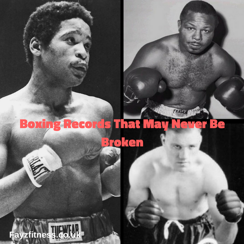 boxing records that may never be broken