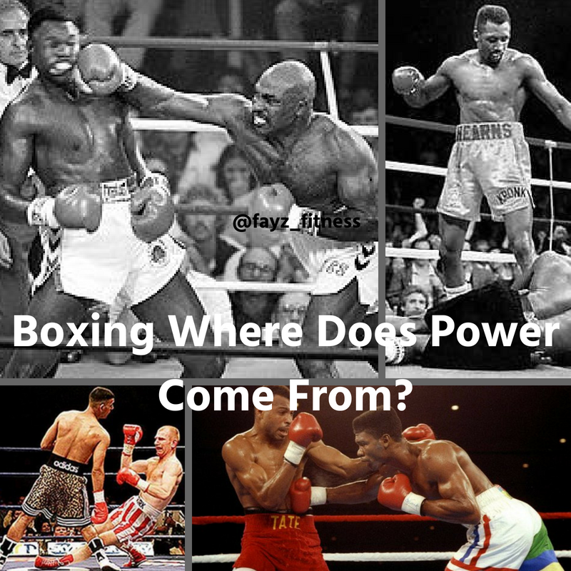 boxing where does your power come from