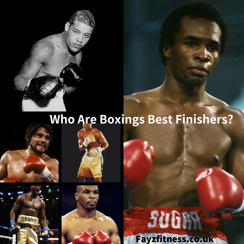 boxings best finishers