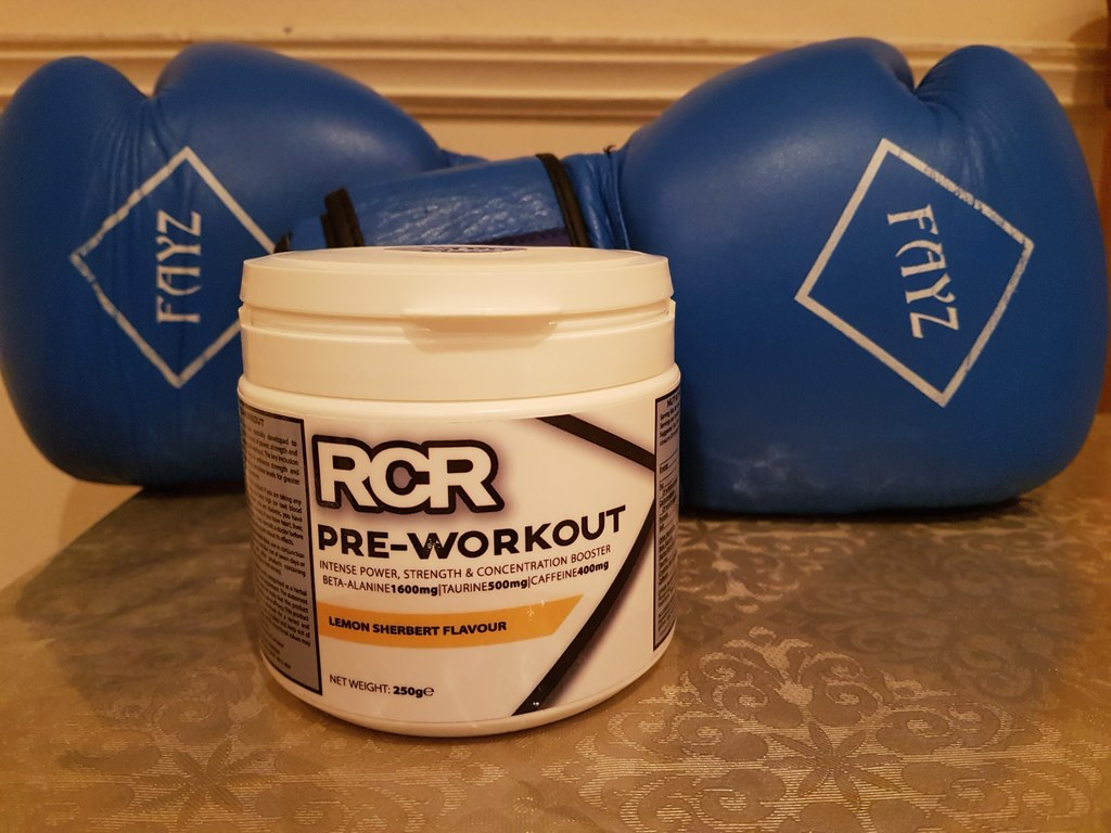 rcr products pre workout booster