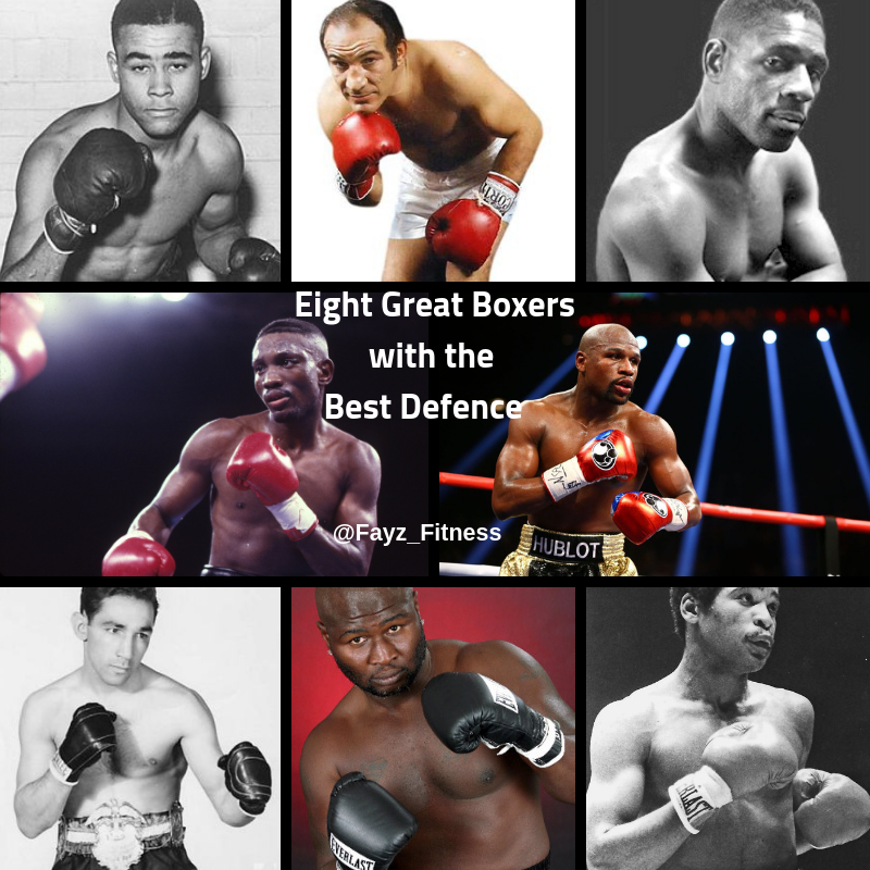 Eight Great Boxers with the best defence