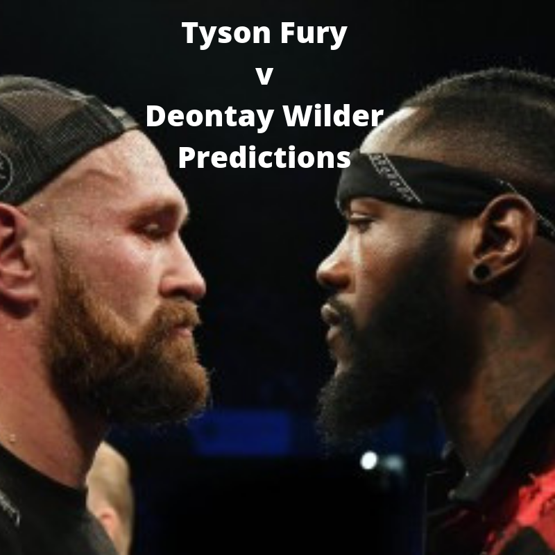 Tyson Fury vs Deontay Wilder Predictions