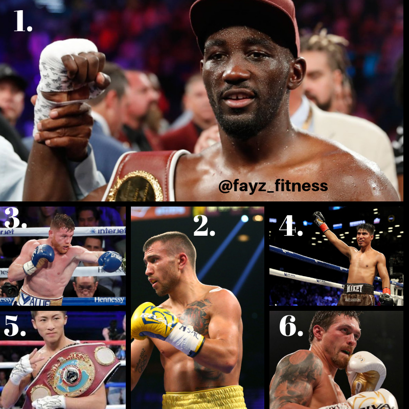 Boxing pound for pound for rankings 2018