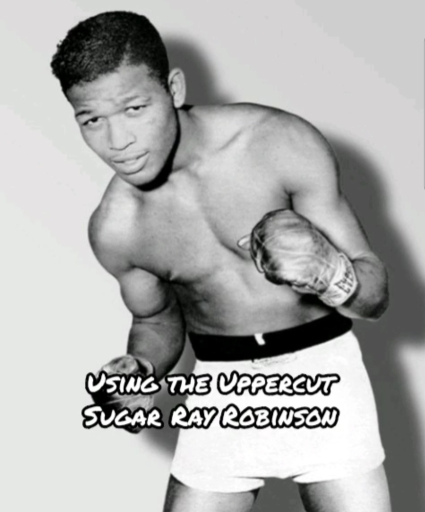 uppercut sugar ray robinson