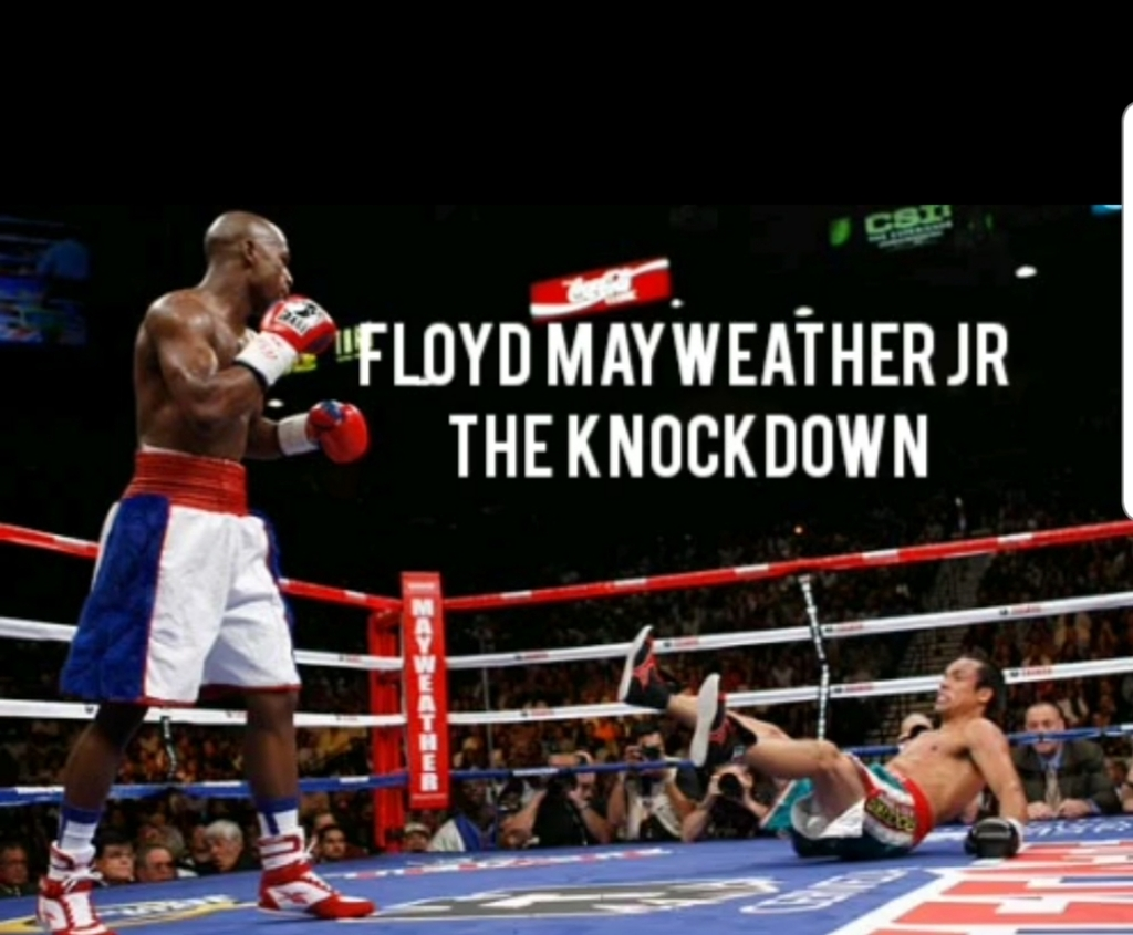 Floyd Mayweather Jr The Knockdown