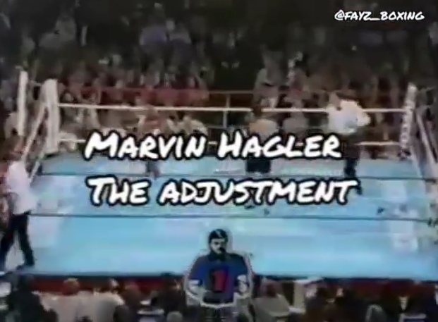 Marvin Hagler vs Roberto Duran