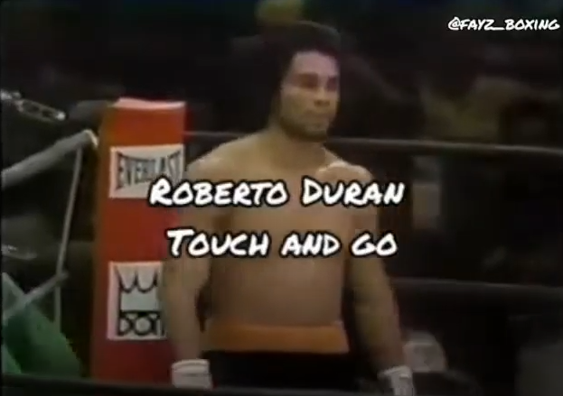 roberto duran touch and go