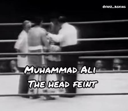 head feint