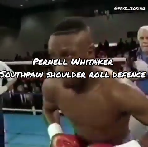 How to use the Shoulder Roll if you are Southpaw
