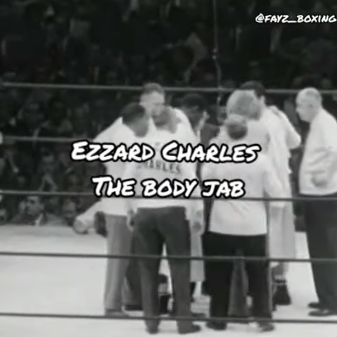 ezzard charles the body jab